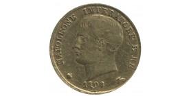 20 Lires Napoléon Imperator - Italie Occupation Française