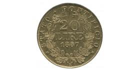 20 Lires Pie IX - Vatican