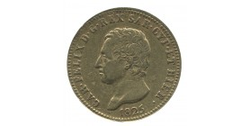 40 Lires Charles Félix - Italie Sardaigne
