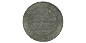 Médaille en argent Mr Jules de Polignac
