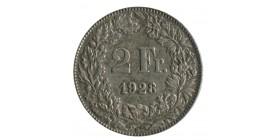 2 Francs Suisse Argent - Confederation