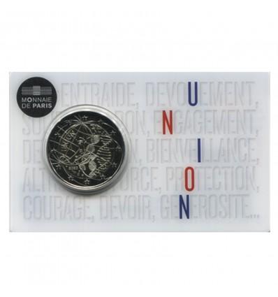2 Euros Commémoratives France 2020 - BU