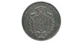 Jeton Etats de Languedoc Louis XVI en Argent