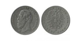 5 Marks Frederic Ier Allemagne Argent - Bade