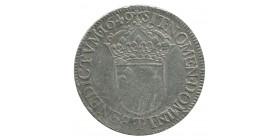 Ecu à  la Mèche Longue Louis XIV