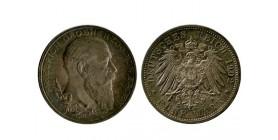 5 Marks Frederic Ier Allemagne Argent - Baden