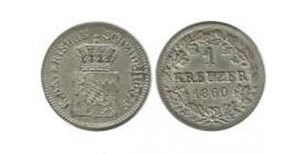 1 Kreuzer Allemagne Argent - Baviere