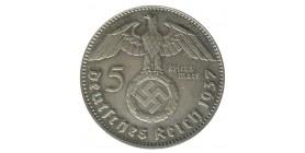 5 Marks - Allemagne Hindenbourg Argent