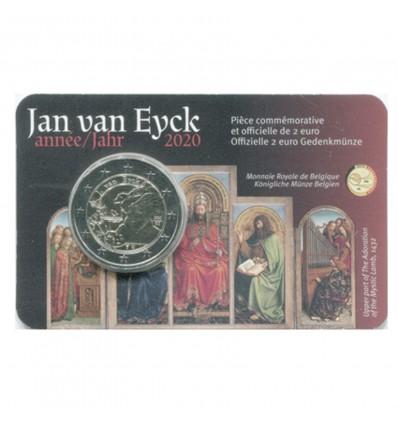 2 Euros Commémorative Belgique 2020