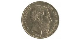 20 Francs Leopold II - Belgique
