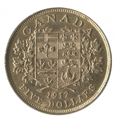 5 Dollars Georges V - Canada