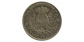 100 Francs Albert Ier - Monaco