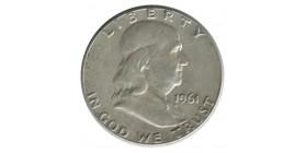 1/2 Dollar Franklin - Etats - Unis Argent