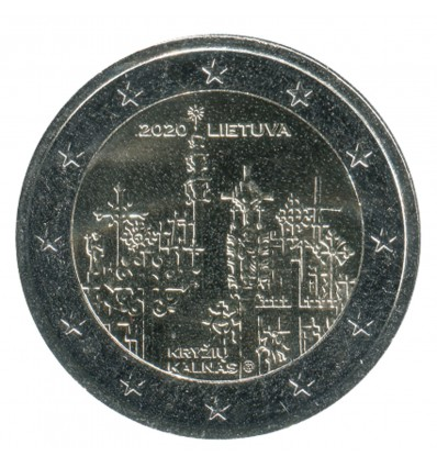 2 Euros Commémorative Lituanie 2020 - Colline des Croix
