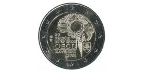 2 Euros Commémorative Slovaquie 2020 - Adhésion OCDE