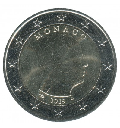 2 Euros Commémoratives Monaco 2019 Albert II