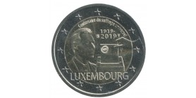 2 Euros Commémorative Luxembourg 2019 - Suffrage Universel