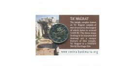 2 Euros Commémoratives Malte 2019 B.U. - Temples Ta'Hagrat