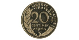20 Centimes Lagriffoul Piéfort