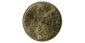 5 Francs Semeuse Piéfort