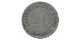 20 Pfennig - Allemagne Argent