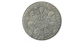 500 Francs - Etats de l'Afrique de l'Ouest Argent