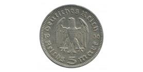 5 Reichsmark Hindenbourg - Allemagne Argent