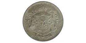 20 Francs Albert Ier Légende Flamande - Belgique Argent
