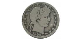 1/4 Dollar Barber - Etats-Unis Argent