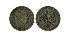 1 Thaler Frederic Guillaume IV allemagne argent - prusse