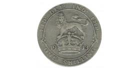 1 Shilling Georges V Grande Bretagne Argent