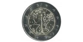 2 Euros Commémoratives Malte 2020