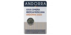 2 Euros Commémoratives Andorre 2020
