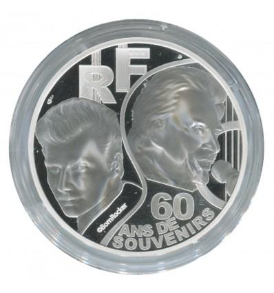 10 euros Johnny Hallyday 2020 BE