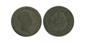 1/6 Thaler Frederic Guillaume III Allemagne Argent - Prusse
