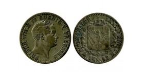 1/6 Thaler Frederic Guillaume IV allemagne argent - prusse