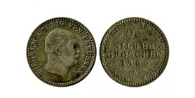 2 1/2 Silber Groschen Guillaume Ier allemagne argent - prusse