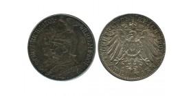 2 Marks Bi-centenaire de la Prusse Allemagne Argent - Prusse