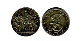 2 Marks Centenaire de la Victoire sur Napoléon allemagne argent - prusse