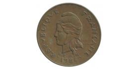 100 Francs - Nouvelle Calédonie