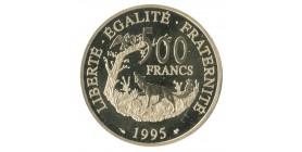 500 Francs Tricentenaire de la mort de La Fontaine