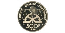 500 Francs Jean Antoine Nicolas de Condorcet 1743-1794