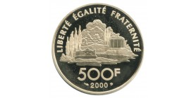 500 Francs Jean-Jacques Rousseau 1712-1778