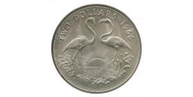 2 Dollars - Bahamas Argent