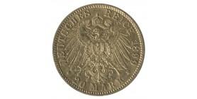 20 Marks Guillaume II - Allemagne Prusse