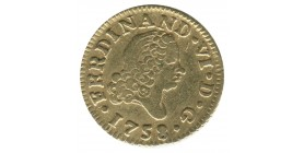 1/2 Escudo Ferdinand VI - Espagne