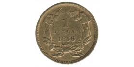 1 Dollar Indien - Etats-Unis