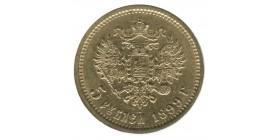 5 Roubles Nicolas II - Russie