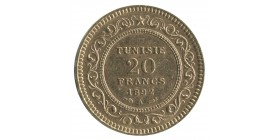 20 Francs - Tunisie
