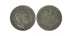 5 Marks Guillaume II Allemagne Argent - Prusse
